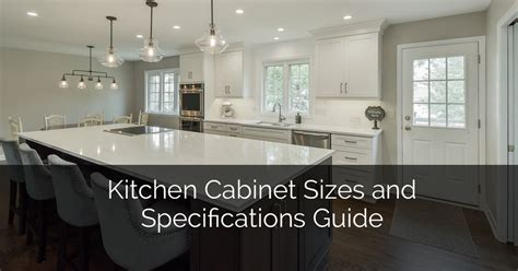 kitchen cabinet sizes  specifications guide home