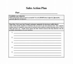 sales action plan template 12 free sample example With business plan to increase sales template