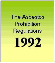 history  asbestos law regulations oracle solutions