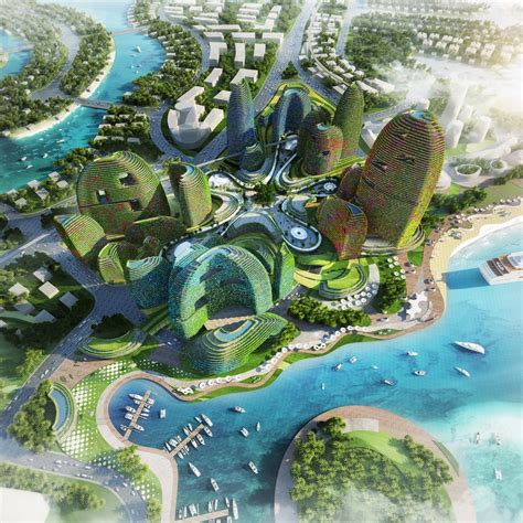 country garden forest city  malaysia  architect