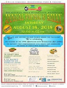 TADA Annual Picnic & Rally – August 18, 2018