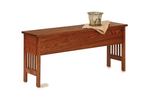 small storage bench american mission small backless storage bench from