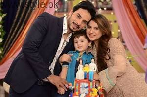 Fatima Effendi and Kanwar Arsalan celebrated their son's ...