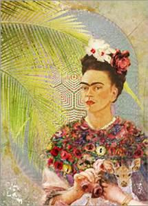 Frida Kahlo Kunstwerk : frida kahlo poster bestellen gratisversand posterlounge ~ Markanthonyermac.com Haus und Dekorationen