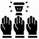 Icon Democracy Citizen Consensus Republic Vote Icons