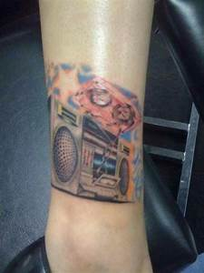 My awesome boombox tattoo | Ink | Pinterest | Boombox ...