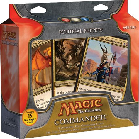 Mtg Deck List Commander by Political Puppets Deck List Commander Edh Decks