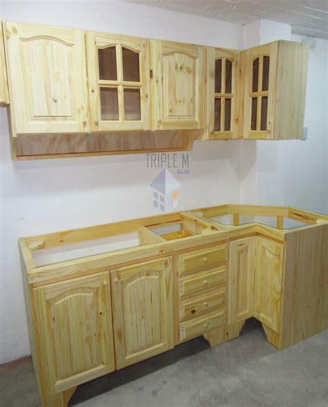 bajo mesada en  pino macizo oferta muebles de cocina  en mercado libre en