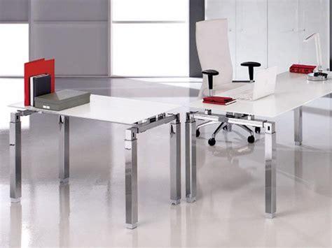 bureau design en verre bureaux droit en verre tous les fournisseurs bureau