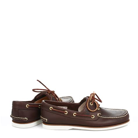 Timberland Blue Boat Shoes Mens by Timberland Mens Classic Boat Shoes Navy Blue Or Brown