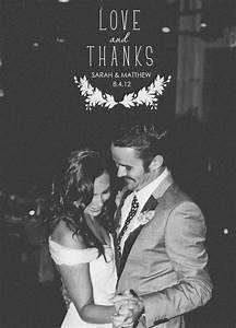 beautiful ideas for your wedding thank you pictures With wedding thank you ideas