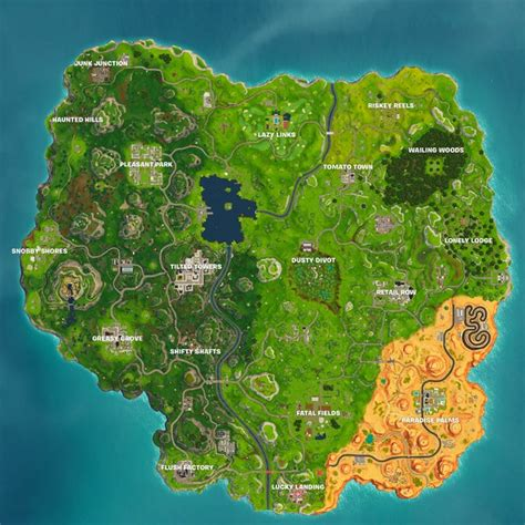 map   fortnite season  fortnite wiki guide