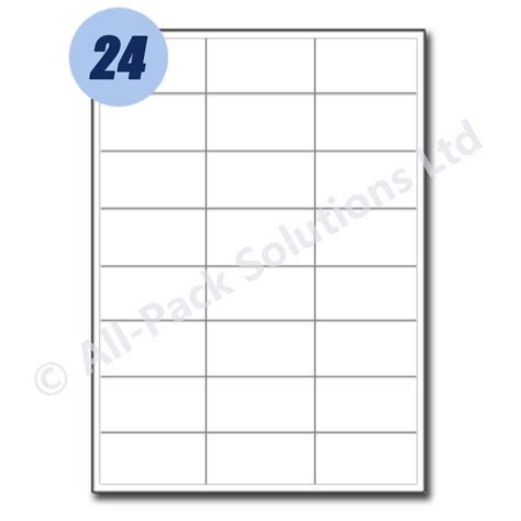 address labels  adhesive sticky  labels  sizes