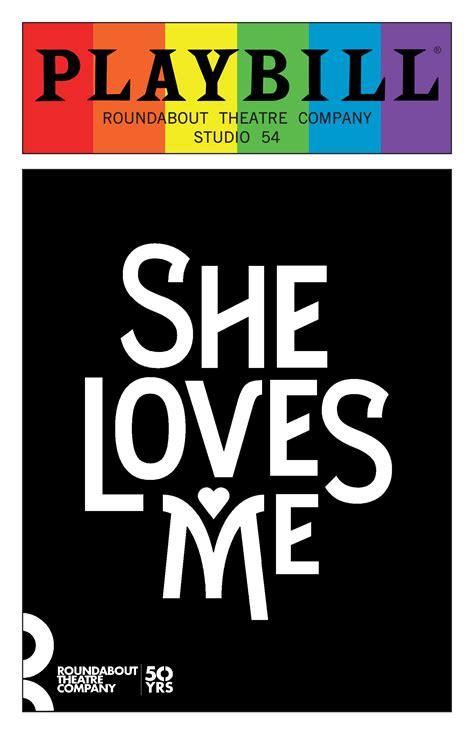 loves  june  playbill  rainbow pride logo
