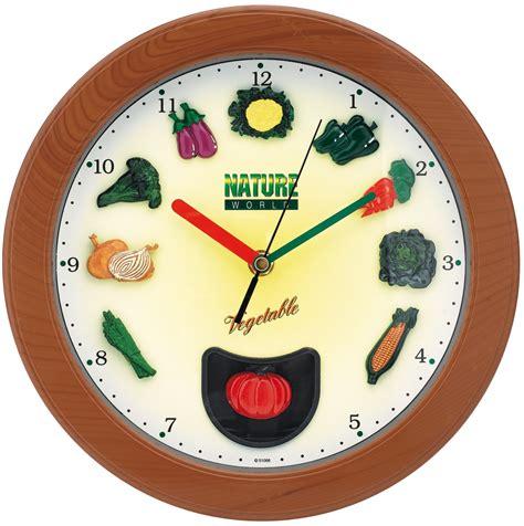 horloge murale cuisine horloge murale cuisine index légumes pendule murale