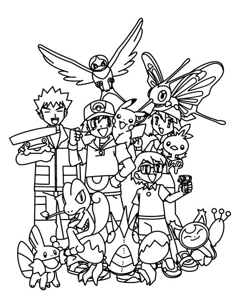 Coloring Page Pokemon Advanced Coloring Pages 112