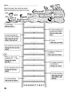 hat head word ladder grades   printable skills