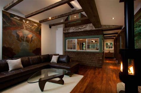 cozy cabin  california  modern interior cozy homes
