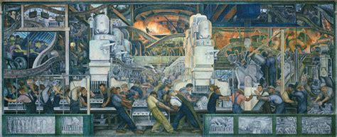 Diego Rivera Rockefeller Mural Analysis by Production Systems Engineering