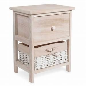 table de chevet et bout de lit maisons du monde With meuble cuisine maison du monde 11 table de chevet avec tiroirs en manguier gris l 45 cm