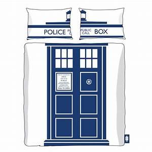 Parure De Lit Double Tardis Doctor Who