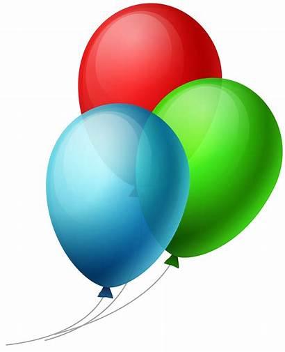 Balloons Balloon Transparent Clipart Three Clip Luftballons