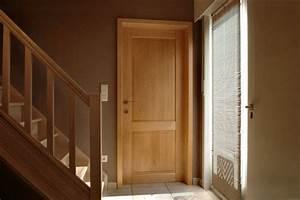 menuiseries With porte de garage enroulable et porte interieur bois massif moderne