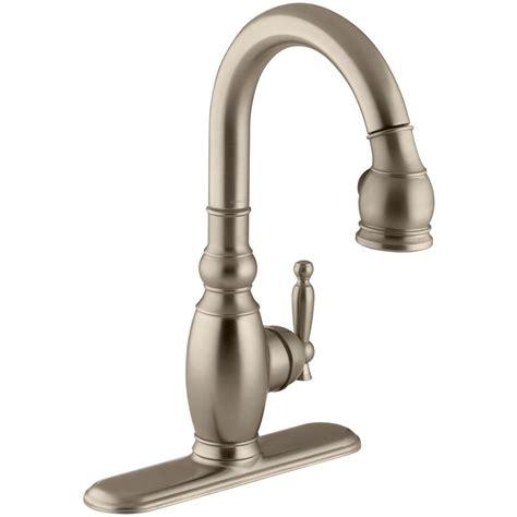 three kitchen faucet kohler vinnata 1 or 3 single handle pull sprayer