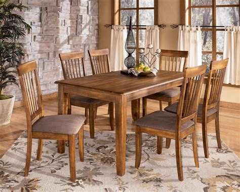 rectangle table with chairs berringer d199 rectangular dining room table and 6 side chairs