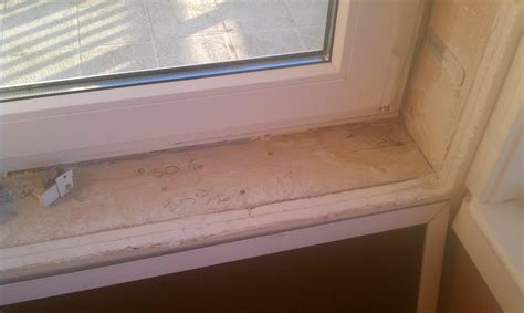 Caulking Window Sills by Stella Remodel Window Sill Sill Window Leaks From