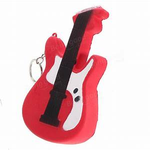 Squishy Guitar 13.5cm Slow Rising Soft Cute Collection ...