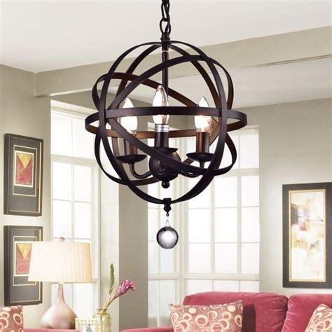 chic  elegant  chandelier  add  bold touch