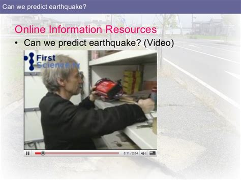 We Predict The Key Looks For: Can We Predict Earthquake?