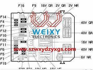 Peugeot 206  207  307  Citroen   Picasso  C2  C3 Fuse Box Bsm  Bsi Often Suffered In The Control