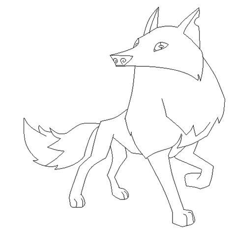 animal jam arctic wolf base  pinkkittymoon  deviantart