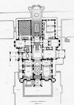 schwab mansion  floor plan castles chateaux  mansions floorplans mansion designs