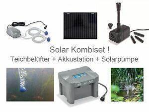 Solarpumpe Für Teich : 50 solar teichbel fter akku sauerstoff pumpe gartenteich teich solarpumpe l fter ebay ~ Orissabook.com Haus und Dekorationen