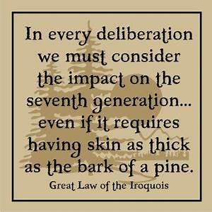 10 Best images ... Iroquois Constitution Quotes