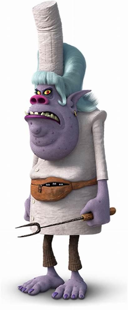 Chef Villains Trolls Wiki Iii Shrek Mcqueen