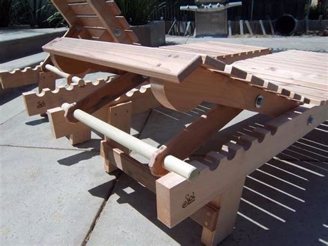 wood chaise lounge woodworking projects
