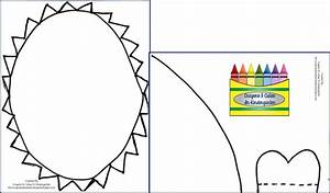 crayons cuties in kindergarten something to sink your With shark hat craft template