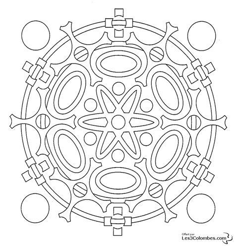 dessins de coloriage mandala en ligne  imprimer