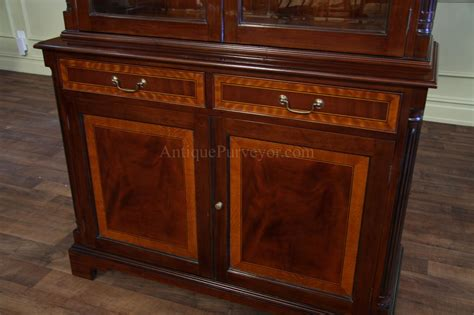ebay mahogany china cabinet high end mahogany china cabinet two door china cabinet