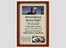 Burns Night Almondsbury Life