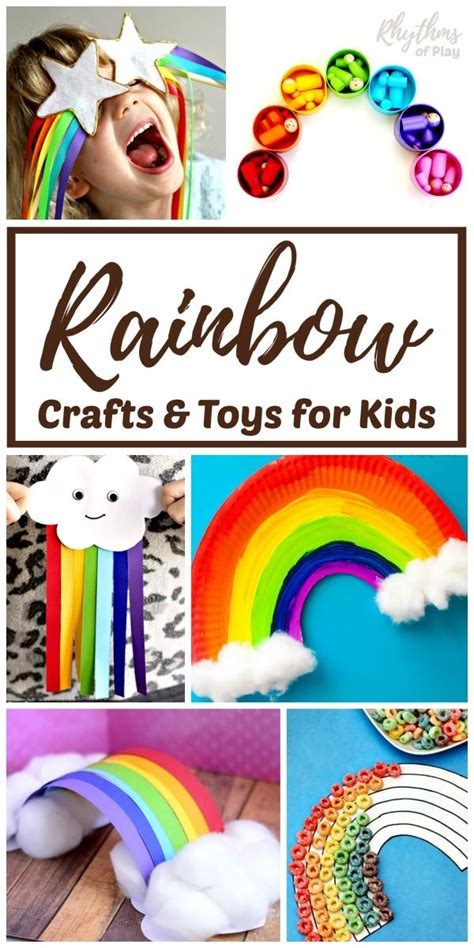 rainbow art projects kids love  rainbow crafts