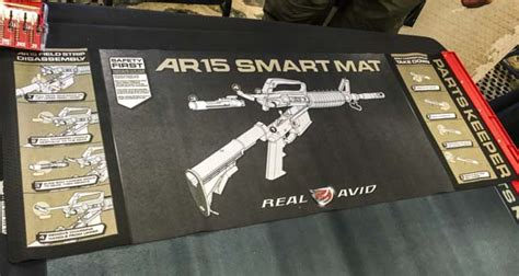 ar 15 cleaning mat new from real avid ar15 smart mat the about guns