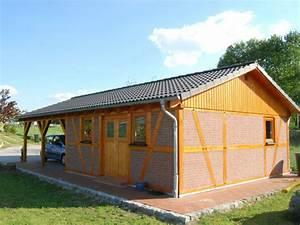 Doppelcarport Mit Schuppen : carport und garage mit fachwerk solarterrassen carportwerk gmbh ~ Markanthonyermac.com Haus und Dekorationen