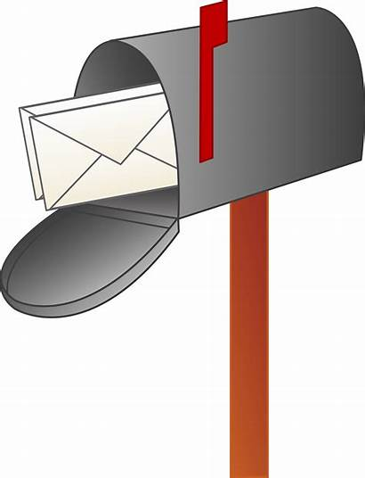 Clipart Letter Mail Clip Cliparts Library Mailbox