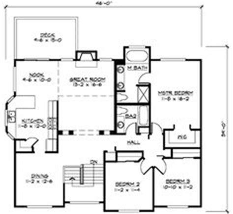 split level house plans  bedroom split level hwbdo split level house plan