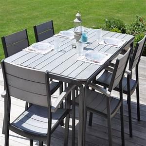 Meuble De Jardin Pas Cher : table salon de jardin pas cher mobilier jardin promo ~ Dailycaller-alerts.com Idées de Décoration
